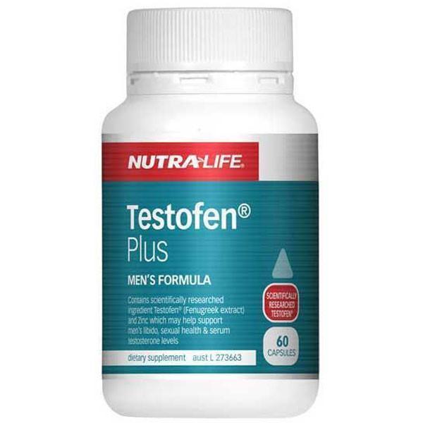 NutraLife Testofen Plus 60 Capsules