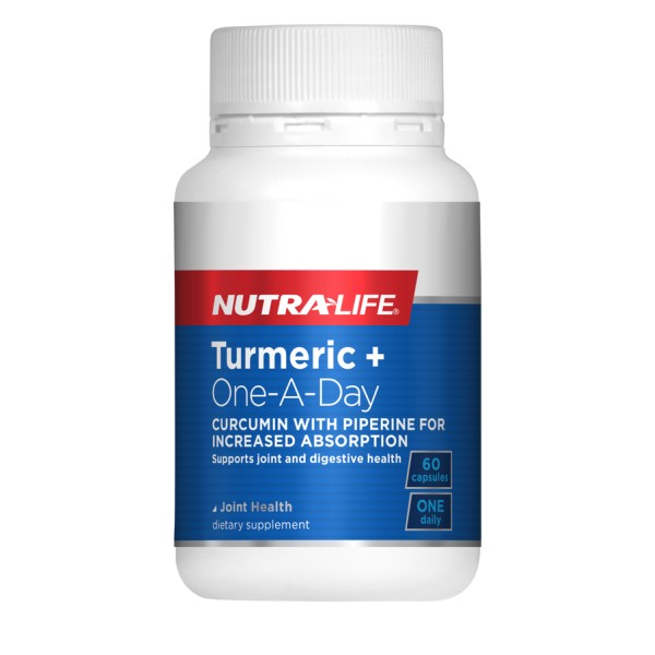 NutraLife Turmeric+ One A Day 60 Capsules