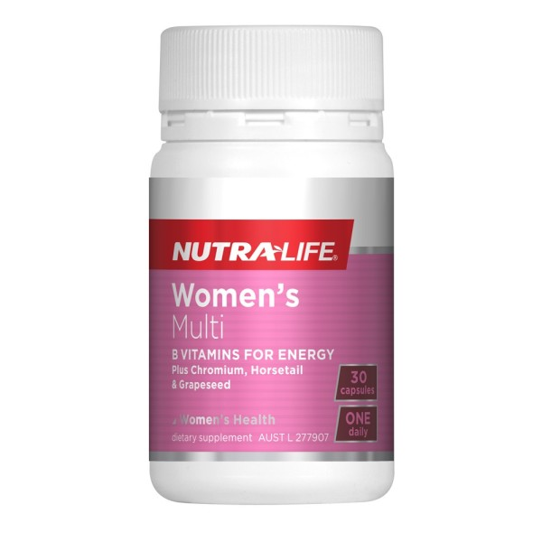 NutraLife Women's Multi One A Day 30 Capsules