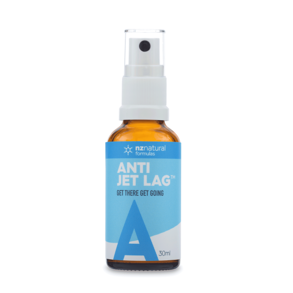 NZ Natural Formulas Anti Jet Lag Spray 30ml