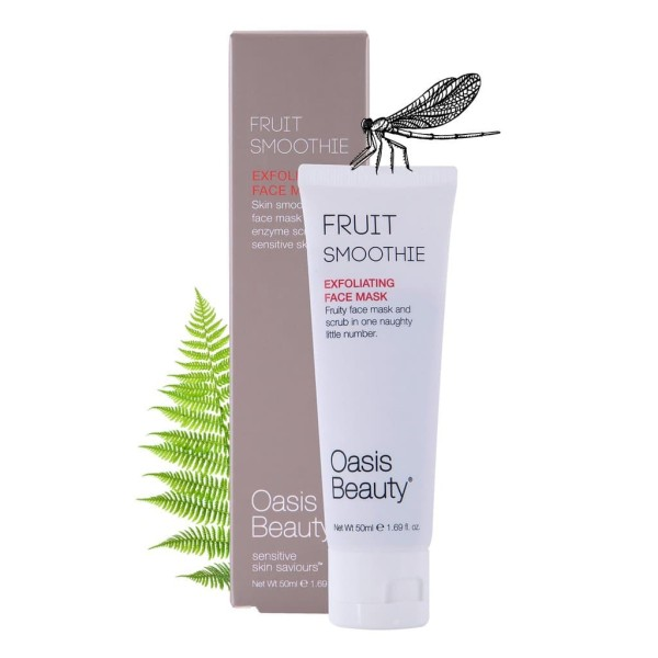 Oasis Beauty Fruit Smoothie Triple Exfoliating Face Mask 50ml