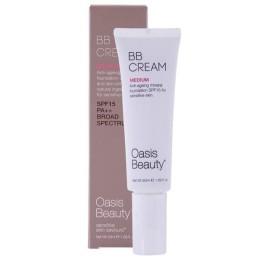 Oasis Beauty Natural BB Cream SPF 15 in Medium Shade 50ml