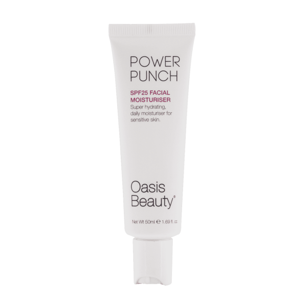 Oasis Beauty Power Punch SPF 25 Hydrating Facial Moisturiser 50ml
