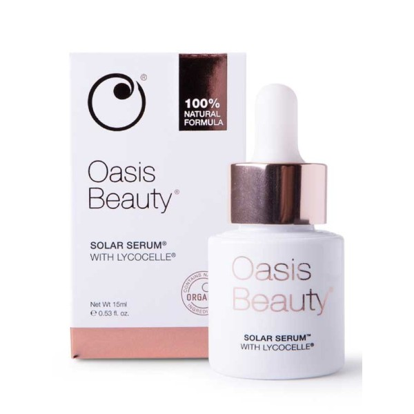 Oasis Beauty Solar Serum With Lycocelle 15ml
