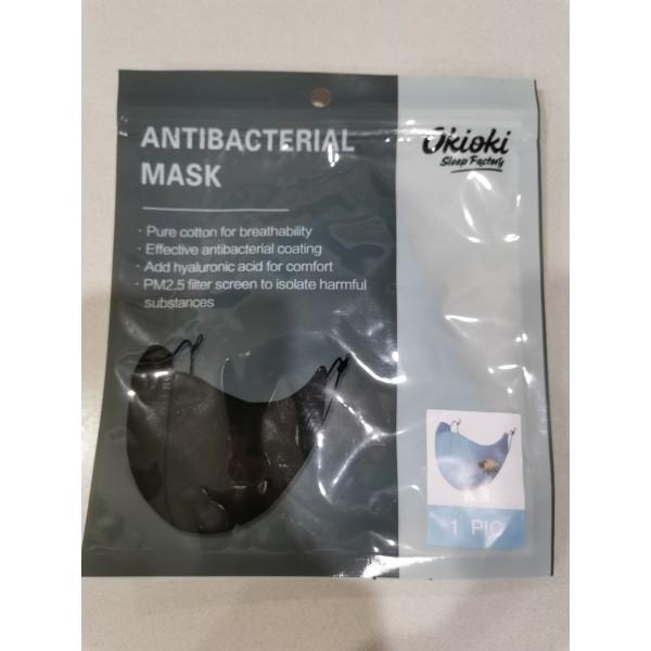 Okioki Antibacterial Reusable Washable Face Mask Kids Blue