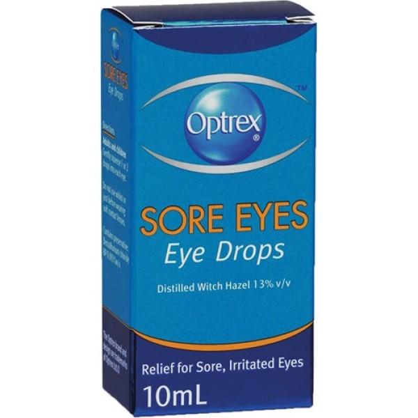 Optrex Sore Eyes Eye Drops 10ml