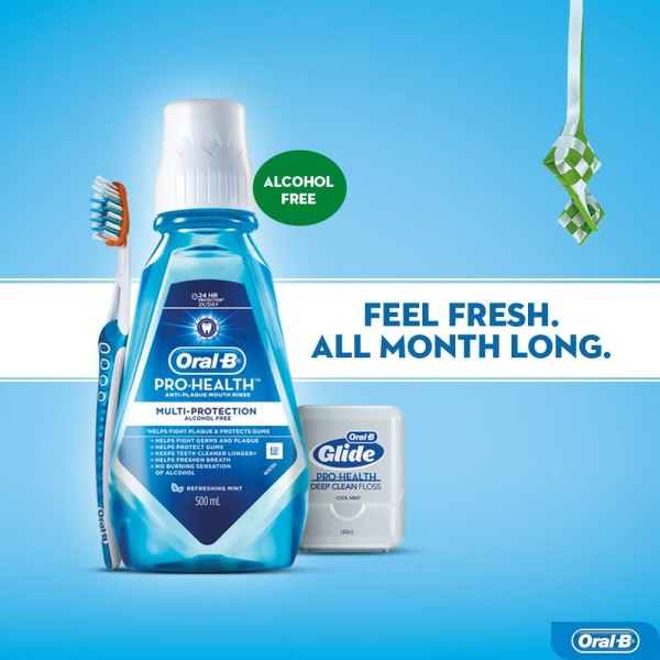Oral B Pro-Health Multi Protection Mouth Rinse 500ml