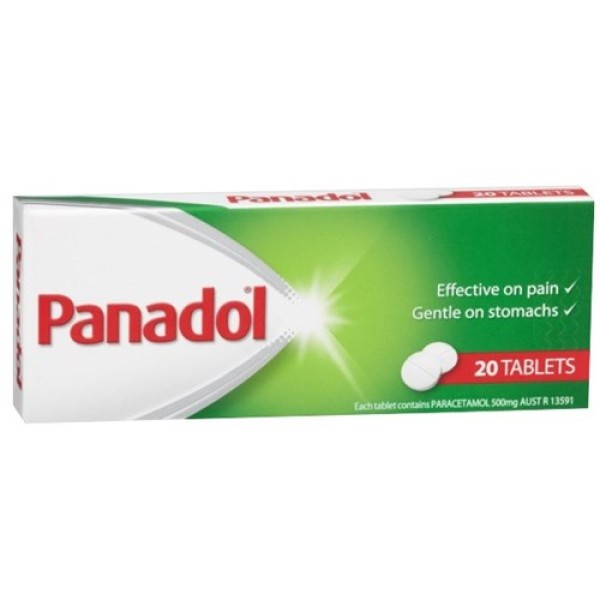 Panadol Paracetamol Pain Relief 20 Tablets