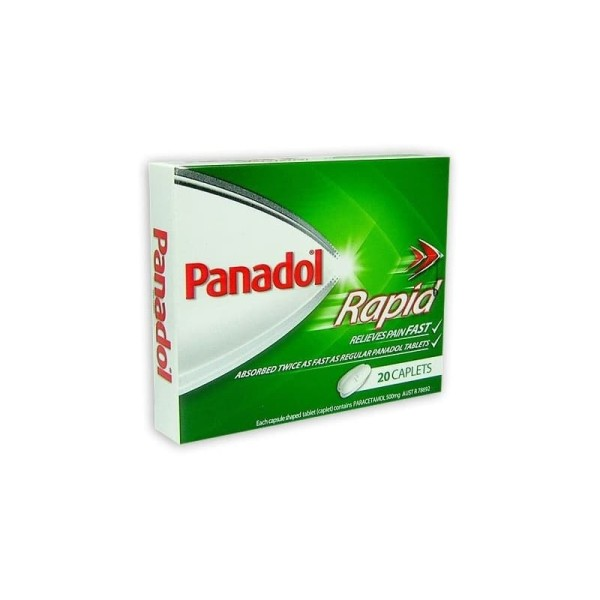 Panadol Paracetamol Rapid 20 Caplets