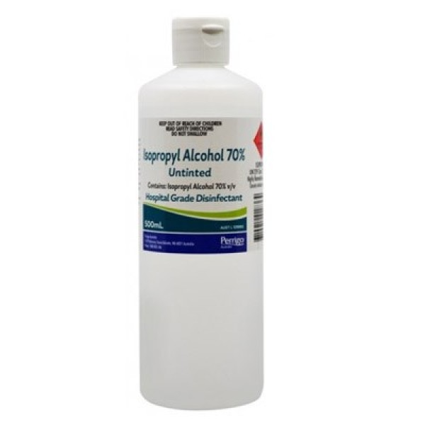 Isopropyl Alcohol 70% Untinted 500ml