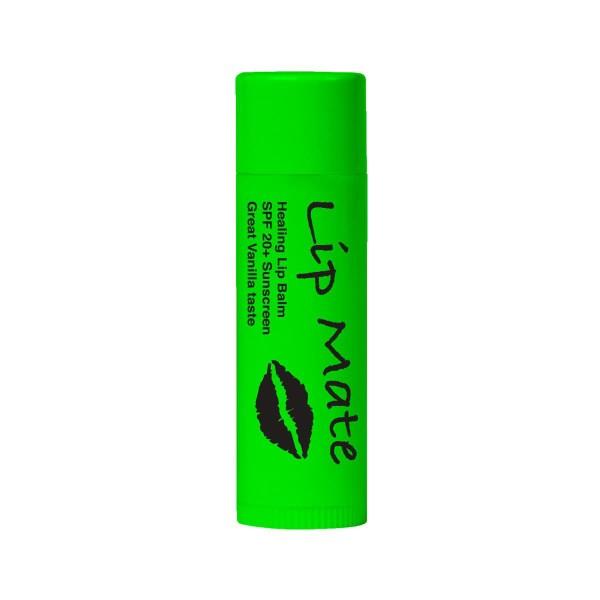 Lip Mate Healing Lip Balm SPF 20+ - Vanilla Taste Green