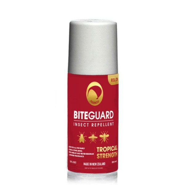 Pharmexa BiteGuard Insect Repellent Tropical Strength Roll On 80ml