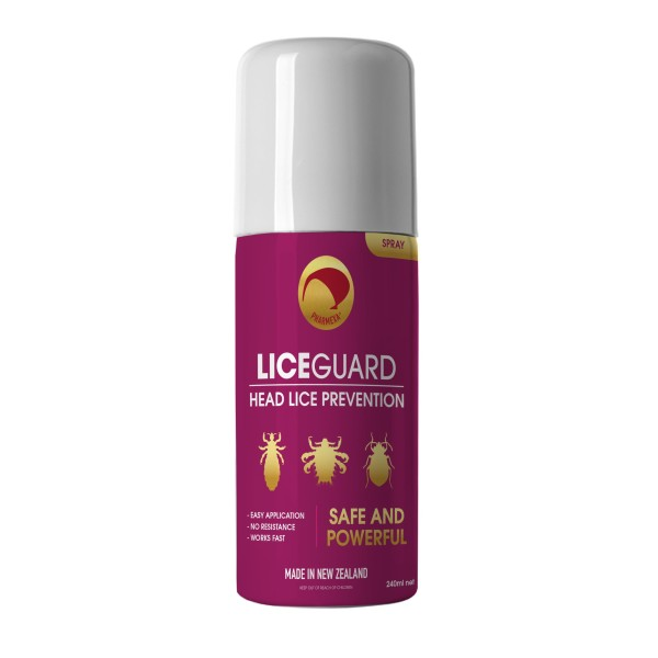 Pharmexa LiceGuard Head Lice Prevention Spray 240ml