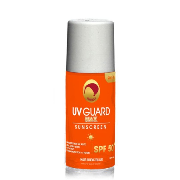 Pharmexa UV Guard Max Sunscreen SPF 50+ Roll On 80ml