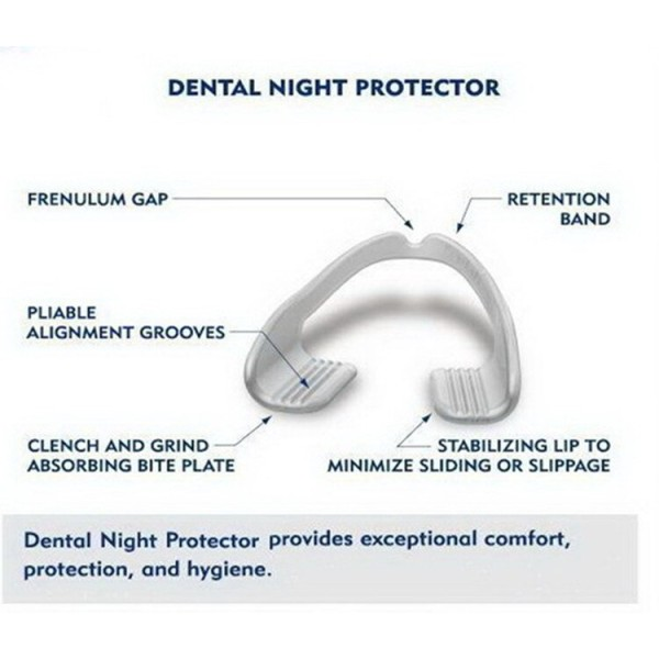 Plackers Grind No More Dental Nights Protectors 10 Count