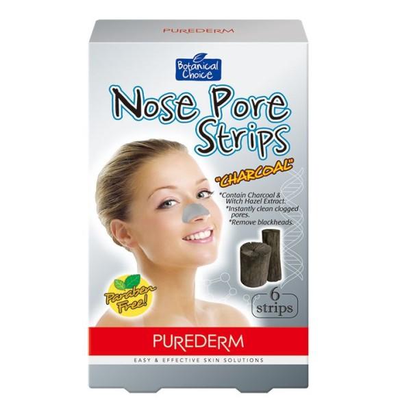 Purederm Botanical Choice Charcoal Nose Pore 6 Strips