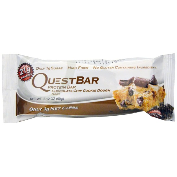 Quest Protein Bar (Single) - Chocolate Chip Cookie Dough