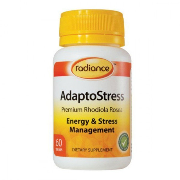 Radiance Adaptostress Rhodiola 60 Capsules