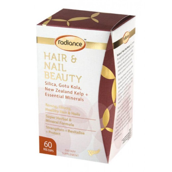 Radiance Hair & Nail Beauty Silica 60 Capsules