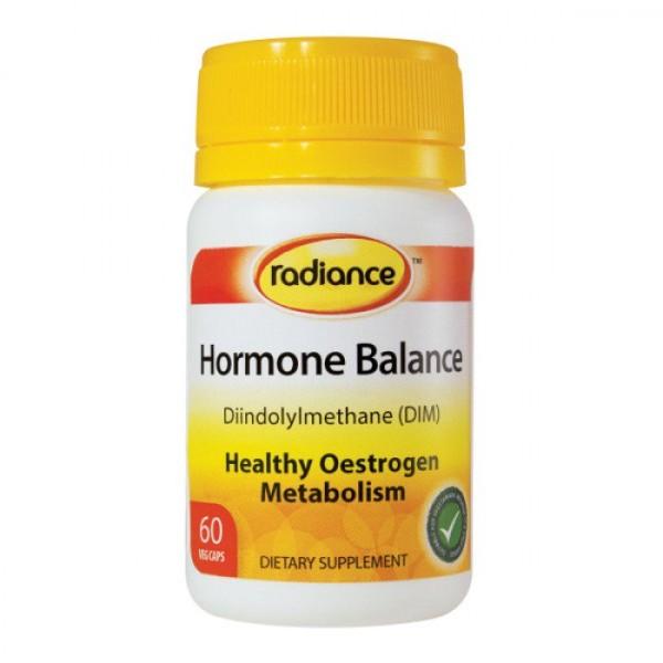 Radiance Hormone Balance Diindolylmethane 75mg 60 Capsules
