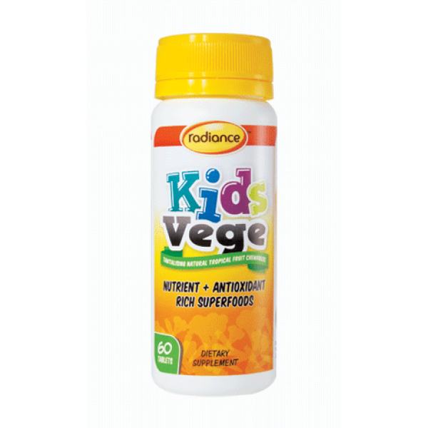 Radiance Kids Vege Chewable 60 Tablets