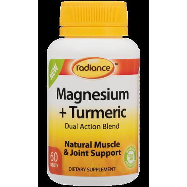 Radiance Magnesium + Turmeric 60 Tablets