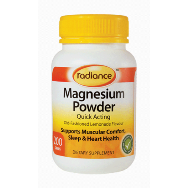 Radiance Magnesium Powder 200g