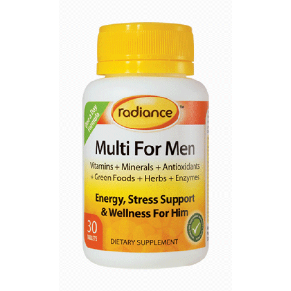 Radiance Multi For Men 30 Tablets