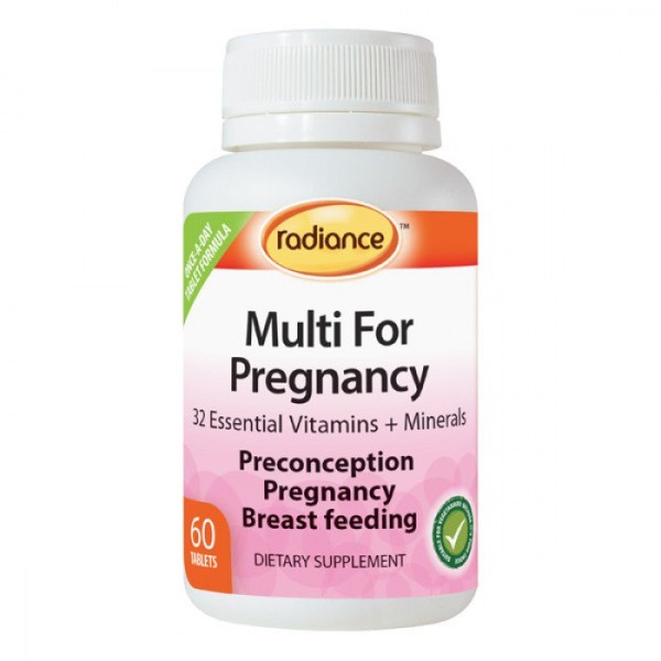 Radiance Multi For Pregnancy 60 Tablets