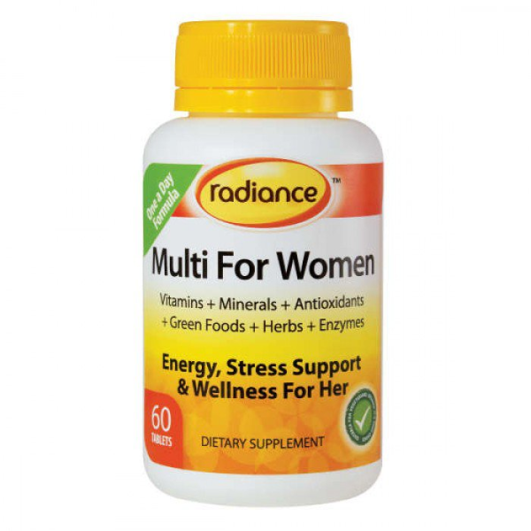 Radiance Multi For Men 60 Tablets