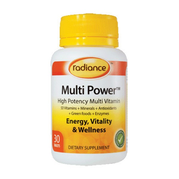 Radiance Multi Power 30 Tablets