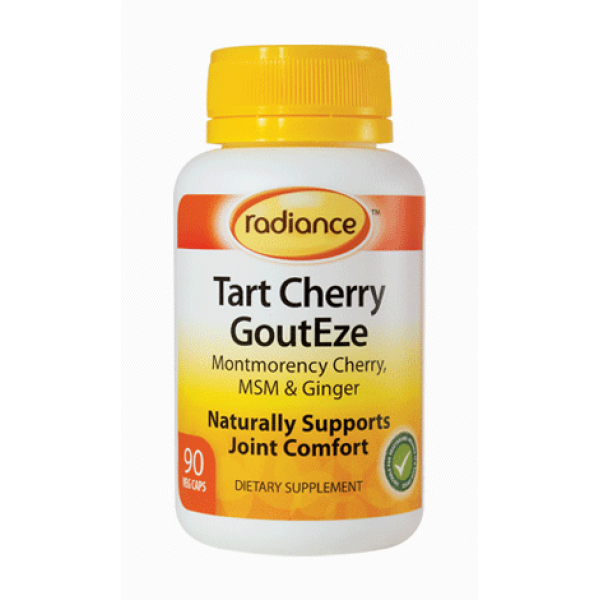 Radiance Tart Cherry GoutEze 90 Capsules
