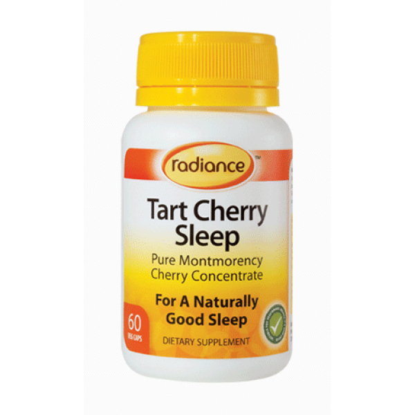 Radiance Tart Cherry Sleep 60 VegeCaps