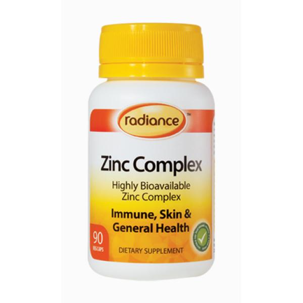 Radiance Zinc Complex 90 Tablets