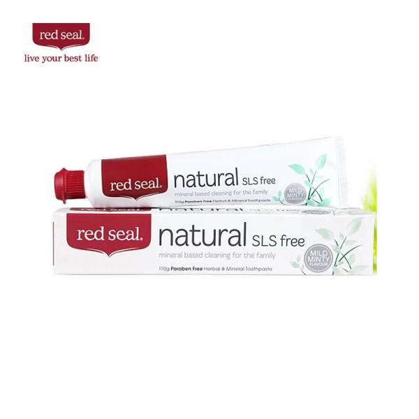 Red Seal Natural Toothpaste SLS Free 110g