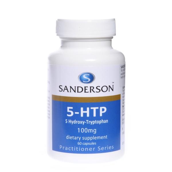 Sanderson 5-HTP 100mg 60 Capsules