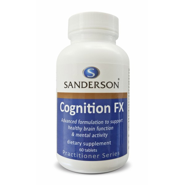 Sanderson Cognition FX 60 Tablets