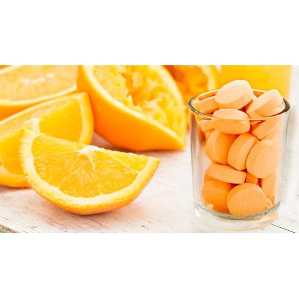 Sanderson Ester-Plex Vitamin C 600mg Chewable Orange Flavour 55 Tablets