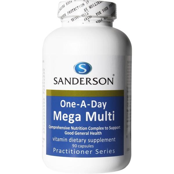 Sanderson Mega Multi 1-a-day 90 Capsules