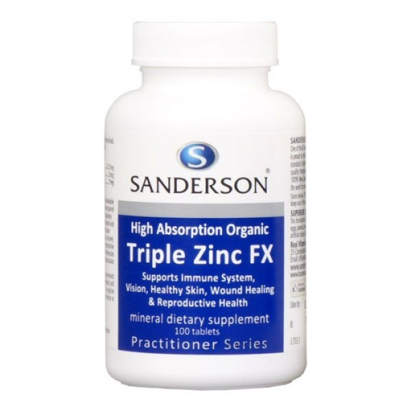 Sanderson Triple Zinc FX 100 Tablets