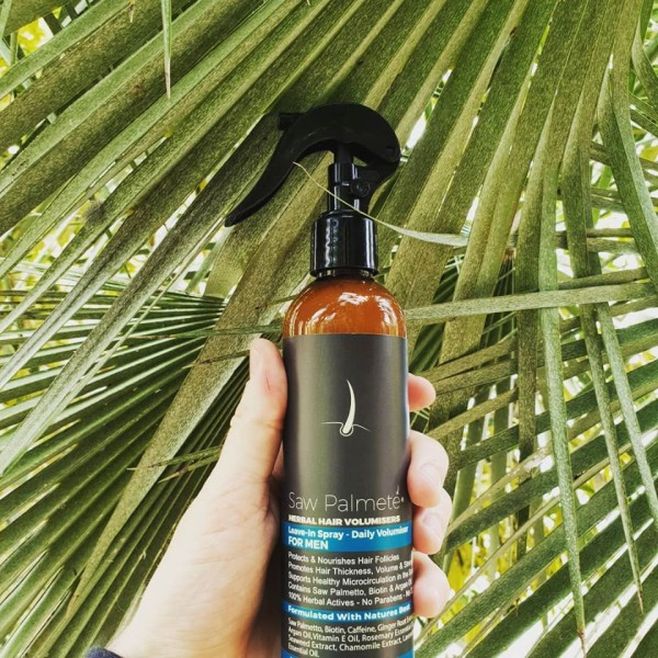 Saw Palmete Herbal Hair Volumiser Leave-In Spray For Men 250ml
