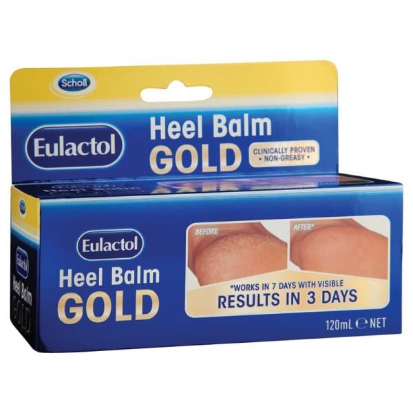 Scholl Eulactol GOLD Heel Balm 60ml