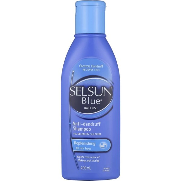 Selsun Blue Replenishing Anti Dandruff Shampoo 200ml