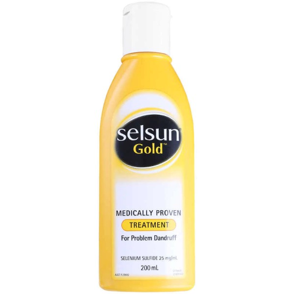 Selsun Gold Anti Dandruff Treatment Shampoo 200ml