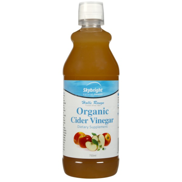 Skybright Organic Cider Vinegar 750ml