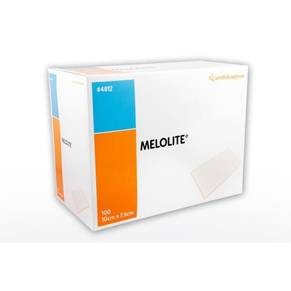 Smith & Nephew Melolite Dressing 10cmx7.5cm 100 Per Box