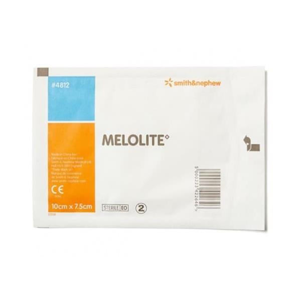 Smith & Nephew Melolite Dressing 10cmx7.5cm Single