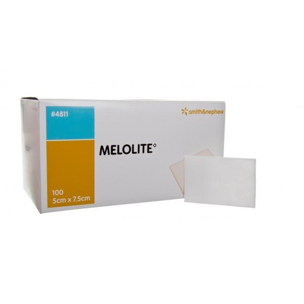 Smith & Nephew Melolite Dressing 5cmx7.5cm 100 Per Box