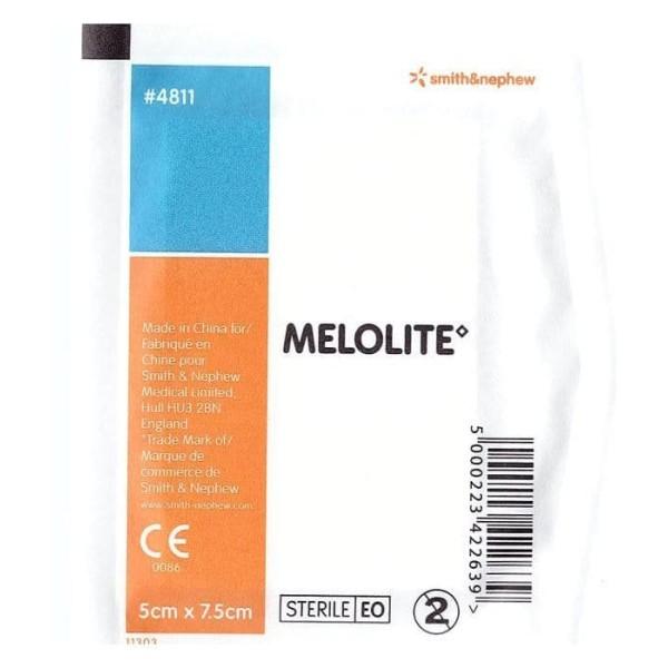 Smith & Nephew Melolite Dressing 5cmx7.5cm Single