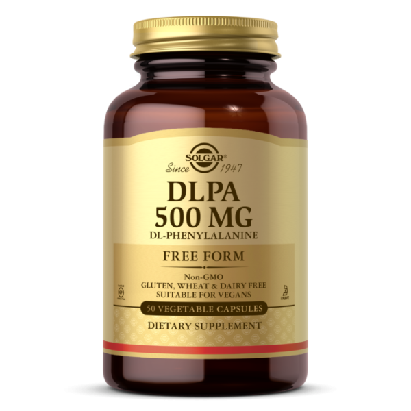 Solgar DLPA 500mg Vegetable Capsules
